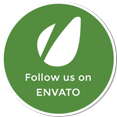Follow us on Envato